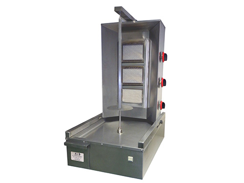ACS Doner Kebab Machine: 3 Burners