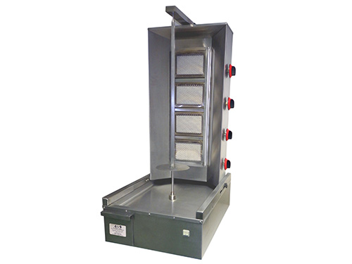 ACS Doner Kebab Machine: 4 Burners