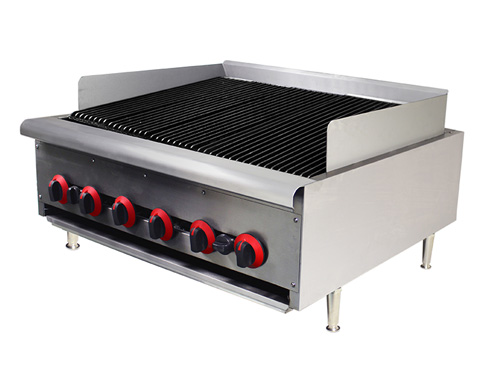 ACS Gas Flame Grill: 6 Burners